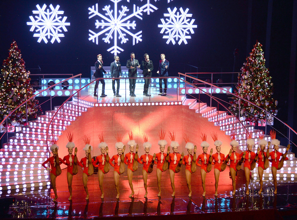 The Tiller Girls on The John Bishop Christmas Show 23rd Dec on BBC1 at 9pm   Pix Dave nelson