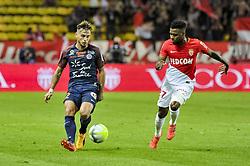 September 29, 2017 - Monaco, France - Ruben Aguilar (Montpellier) - Thomas Lemar  (Credit Image: © Panoramic via ZUMA Press)