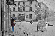 SERIES - UNRELIABLE-SIGHTINGS by PAUL WILLIAMS- Snowy day Beaune
