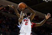 DALLAS, TX - NOVEMBER 25: Yanick Moreira #2 of the SMU Mustangs drives to the basket against the Arkansas Razorbacks on November 25, 2014 at Moody Coliseum in Dallas, Texas.  (Photo by Cooper Neill/Getty Images) *** Local Caption *** Yanick Moreira