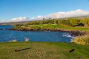 3rd Hole Mauna Kea Golf Course, Kohala Coast, Island of Hawaii