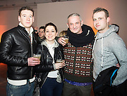 Hotel Meyrick's Martin Lydon, Glenda Fitzpatrick, Paul and Stephen Connolly at The Jameson The Black Barrel Craft Series  at Old printing works, Market Street with music by Corner boy.  Photo:Andrew Downes