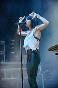 COLUMBIA, MD - May 31, 2015 - Phantogram performs at the 2015 Sweetlife Festival at Merriweather Post Pavilion in Columbia, MD. (Photo by Kyle Gustafson / For The Washington Post)