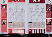 All Ireland Senior Hurling Championship - Final,.11.09.2005, 09.11.2005, 11th Septemeber 2005,.Minor Galway 3-12, Limerick 0-17,.Senior Cork 1-21, Galway 1-16,.11092005AISHCF,..Cork, .1 Donal Og Cusack, Cloyne, 2 Pat Mulcahy, Newtownshandrum , 3 Diarmuid O'Sullivan, 4 Brian Murphy, Bride Rovers, 5 John Gardiner, Na Piarsaigh, 6 Ronan Curran, St Finbarr's. 7 Sean Og O hAilpin, 8 Tom KEnny, Grenagh, 9 Jerry O'Connor, 10 Ben O'Connor, Newtownshandrum, 11 Niall McCarthy, 12 Timmy McCarthy, Castlelyons, 13 Kieran Murphy, Sarsfields, 14 Brian Corcoran, Erin's Own, 15 Joe Deane, Killeagh, subs, Martin Coleman, Wayne Sherlock, Cian O'Connor, John Browne, Graham Callinan, Kevin Hartnett, Neil Ronan, Kieran Murphy, Johnathan O'Callaghan, Paul Morrissey, Peter Kelly, Shane O'Neill, Kieran McGann, Ronan McGregor, ..Galway, 1 Liam Donoghue, Clarenbridge, 2 Damien Joyce, Cappataggle, 3 Tony Og Regan, Rahoon Newcastle, 4 Ollie Canning, Portumna, 5 Derick Hardiman, Mullagh, 6 Shane Kavangh, Kinvara, 7 David Collins, Liam Mellowes, 8 Fergal Healy, Craughwell, 9 David Tierney, Kilnadeema Leitrum, 10 Richie Murray, St Thomas's, 11 David Forde, Clarebridge, 12 Alan Kerins, Clarenbridge, 13 Ger Farragher, Castlegar, 14 Niall Healy, Craughwell, 15 Damien Hayes, Portumna,  subs, Paul Dullaghan, Colin Coen, David Donoghue, Liam Hodgins, Ger Mahon, David Hayes, Andrew Coen, Aongus Callanan, Kevin Broderick, Andrew Smyth, Kevin Hayes, Noel Kenny, Tom Tierney,