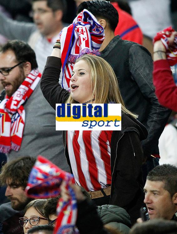 Atletico de Madrid's supporter during La Liga match. April 4,2017. (ALTERPHOTOS/Acero)