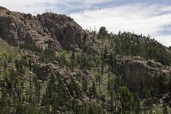 Needles Highway scenic vista