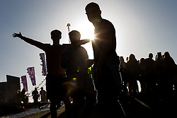 © Licensed to London News Pictures . 07/06/2015 . Manchester , UK . Festival goers at The Parklife 2015 music festival in Heaton Park , Manchester . Photo credit : Joel Goodman/LNP