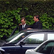 Begrafenis Elly van der Berkt, Tony Berk