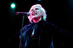Blondie with INXS at Hallam FM Arena 6th December 2002<br /><br />Copyright Paul David Drabble<br />Freelance Photographer<br />07831 853913<br />0114 2468406<br />www.pauldaviddrabble.co.uk<br /> [#Beginning of Shooting Data Section]<br />Nikon D1 <br /> 2002/12/06 22:54:37.6<br /> JPEG (8-bit) Fine<br /> Image Size:  2000 x 1312<br /> Color<br /> Lens: 80-200mm f/2.8-2.8<br /> Focal Length: 80mm<br /> Exposure Mode: Manual<br /> Metering Mode: Spot<br /> 1/160 sec - f/2.8<br /> Exposure Comp.: 0 EV<br /> Sensitivity: ISO 800<br /> White Balance: Auto<br /> AF Mode: AF-C<br /> Tone Comp: Normal<br /> Flash Sync Mode: Not Attached<br /> Color Mode: <br /> Hue Adjustment: <br /> Sharpening: Normal<br /> Noise Reduction: <br /> Image Comment: <br /> [#End of Shooting Data Section]