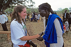 Michelle Wharton & Woman From Ramogi