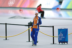 11-02-2006 SCHAATSEN:OLYMPISCHE WINTERSPELEN: 5000 METER HEREN: TORINO<br /> Carl Verheijen<br /> ©2006-Ronald Hoogendoorn