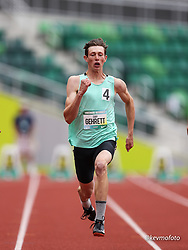2021 High School Nationals<br /> NSAF Outdoor Track and Field Championship<br /> Decathlon, high school, 100m,<br /> Ridgeview TC, OR