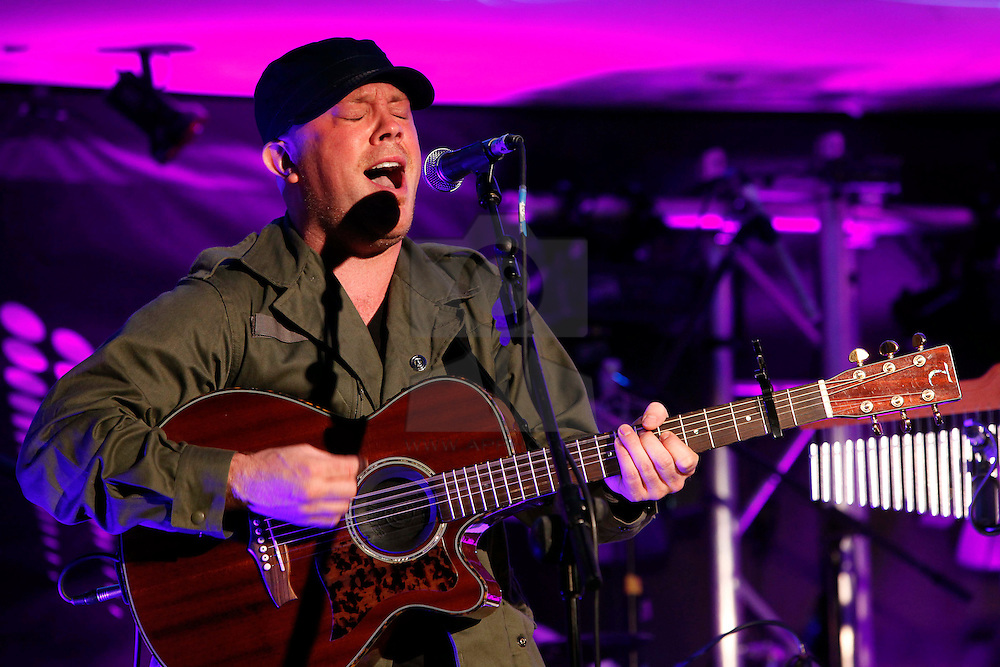 Ryan Sheridan pictured performing at the launch of Arthur's Day 2011. Pic Andres Poveda CPR