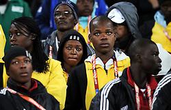 02.07.2010, Soccer City Stadium, Johannesburg, RSA, FIFA WM 2010, Viertelfinale, Uruguay (URU) vs Ghana (GHA) im Bild Enttäuschung pur bei den Fans von Ghana, EXPA Pictures © 2010, PhotoCredit: EXPA/ InsideFoto/ Perottino, ATTENTION! FOR AUSTRIA AND SLOVENIA ONLY!