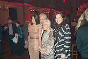 MARGHERITA MISSONI; ROSITA MISSONI; ANGELA MISSONI, IMG HERALD TRIBUNE HERITAGE LUXURY PARTY.- Celebration of Heritage Luxury and 10 years of the International Herald Tribune Luxury Conferences. North Audley St. London. 9 November 2010. -DO NOT ARCHIVE-© Copyright Photograph by Dafydd Jones. 248 Clapham Rd. London SW9 0PZ. Tel 0207 820 0771. www.dafjones.com.