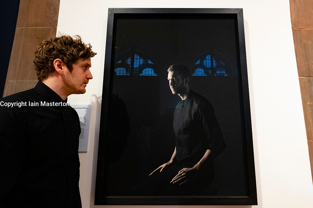 Edinburgh, Scotland, UK; 31 July, 2018. Portrait of Scottish superstar Calvin Harris has entered the nation's art collection. The Scottish National Portrait Gallery has acquired a photographic portrait of the internationally known musician. Real name Adam Richard Wiles, Calvin Harris is one of the most successful and influential music artists working today. Photographer is Paul Stuart.