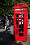The red telephone box, a public telephone kiosk designed by Sir Giles Gilbert Scott, is a familiar sight on the streets of the United Kingdom, and despite a reduction in their numbers in recent years, red boxes can still be seen. The colour red was chosen to make them easy to see.