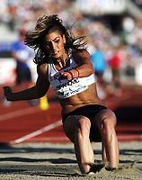 Friidrett , 5. juni 2010 , Bislett Games , Diamond League ,<br /> Ivana Spanovic , SRB<br /> long jump