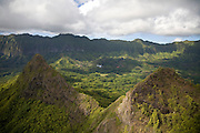 Mt. Olomana, Oahu, Hawaii