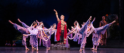 La Bayadere <br /> A ballet in three acts <br /> Choreography by Natalia Makarova <br /> After Marius Petipa <br /> The Royal Ballet <br /> At The Royal Opera House, Covent Garden, London, Great Britain <br /> General Rehearsal <br /> 30th October 2018 <br /> <br /> STRICT EMBARGO ON PICTURES UNTIL 2230HRS ON THURSDAY 1ST NOVEMBER 2018 <br /> <br /> <br /> Gary Avis as The High Brahmin <br /> <br /> <br /> Photograph by Elliott Franks Royal Ballet's Live Cinema Season - La Bayadere is being screened in cinemas around the world on Tuesday 13th November 2018 <br /> --------------------------------------------------------------------