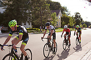 Cyclist compete in the USA Cycling Wisconsin Criterium Championship in Middleton, Wisconsin on August 14, 2016. <br /> <br /> Beth Skogen Photography - www.bethskogen.com