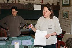 Claudia Manfredi Explaining Map