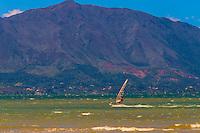 Windsurfing, Magenta Bay, Noumea, Grand Terre, New Caledonia