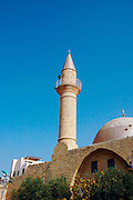 A mosque and turret in old Akko<br /> Akko also Acre, is a city in northern Israel with a history spanning centuries. It also played a major role in the holy land crusades