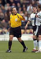 Photo: Leigh Quinnell.<br /> Derby County v Crystal Palace. Coca Cola Championship. 25/03/2006. Referee A.Wiley.