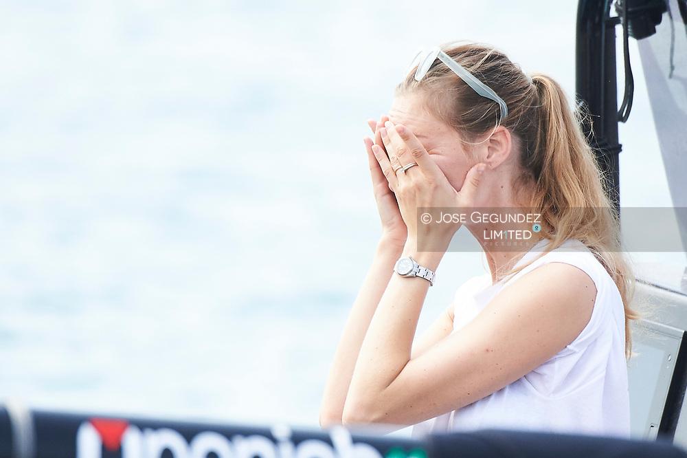 Beatrice Borromeo during the 36th Copa del Rey Mapfre Sailing Cup, day 3 on August 2, 2017 in Palma de Mallorca, Spain.