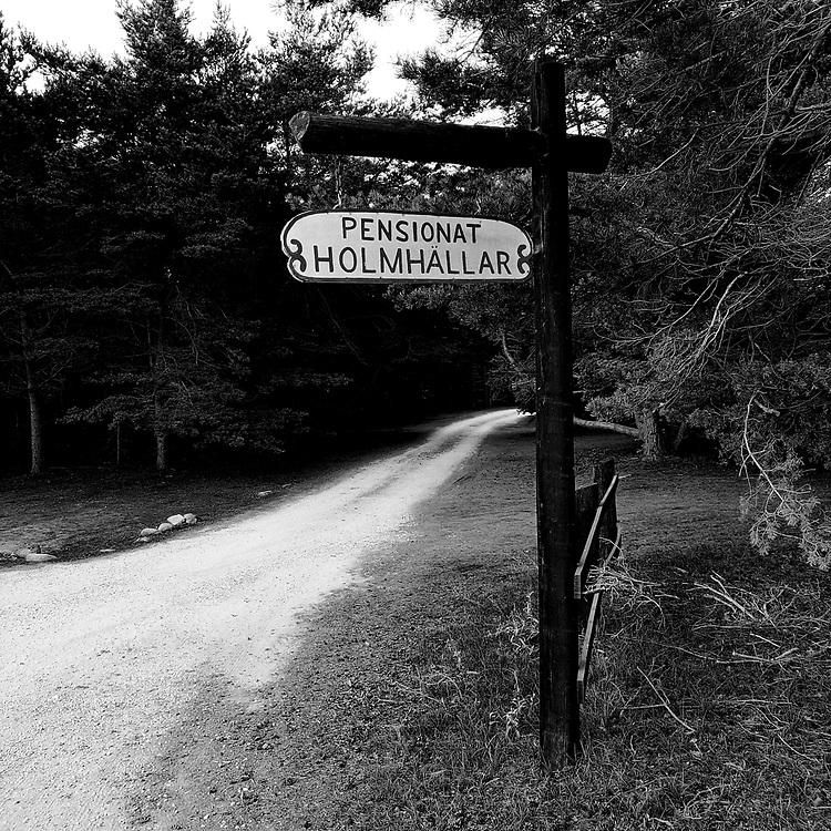 Holmhällar pensionat.<br /> PHOTO © Bernt Lindgren