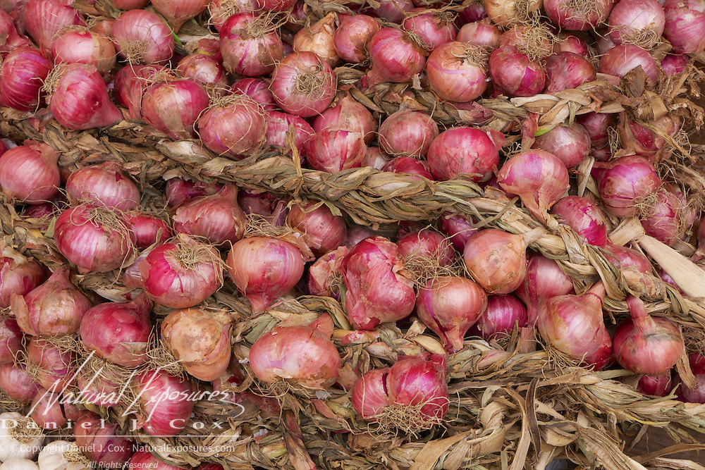 Onions being sold on the streets of Trinidad, Cuba.