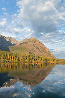 Upper Kintla Lake Glacier National Park Montana