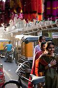 Busy street in Jodhpur, Rajasthan, India