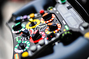 Nov 15-18, 2012: Mercedes F1 steering wheel detail.© Jamey Price/XPB.cc