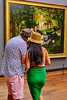 France, Paris (75), zone classée Patrimoine Mondial de l'UNESCO, Musée d'Orsay, Le Déjeuner sur l'herbe, Edouard Manet // France, Paris, Orsay museum