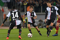May 12, 2019 - Rome, Italy - Paulo Dybala during the Italian Serie A football match between A.S. Roma and Juventus at the Olympic Stadium in Rome, on may 12, 2019. (Credit Image: © Silvia Lore/NurPhoto via ZUMA Press)