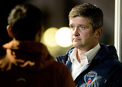Bristol Academy Womens manager, Dave Edmondson - Photo mandatory by-line: Alex James/JMP - Mobile: 07966 386802 - 04/10/2014 - SPORT - Football - Bristol - Stoke Gifford Stadium - Bristol Academy Womens v Notts County Ladies - Womens Super League