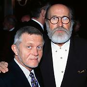 Nieuwjaarsreceptie Strengholt 1997, Pierre Kartner ( Vader Abraham ) + Adje Roland