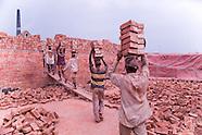 Brickfields in Bangladesh