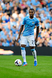 Manchester City's Fernandinho - Photo mandatory by-line: Dougie Allward/JMP - Tel: Mobile: 07966 386802 22/09/2013 - SPORT - FOOTBALL - City of Manchester Stadium - Manchester - Manchester City V Manchester United - Barclays Premier League