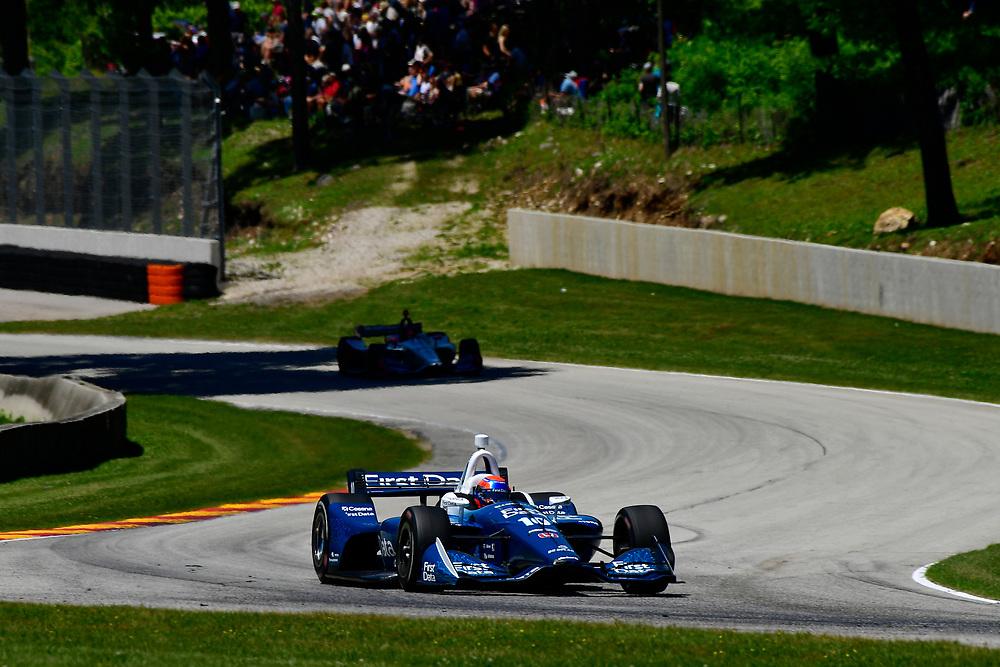 Ed Jones, Chip Ganassi Racing Honda<br /> Sunday 24 June 2018<br /> KOHLER Grand Prix at Road America<br /> Verizon IndyCar Series<br /> Road America WI USA<br /> World Copyright: Scott R LePage