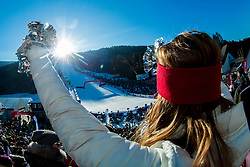 Course during 6th Ladies' Giant slalom at 53rd Golden Fox - Maribor of Audi FIS Ski World Cup 2015/16, on January 7, 2017 in Pohorje, Maribor, Slovenia. Photo by Vid Ponikvar / Sportida