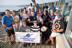 Largs Regatta Festival 2019<br /> <br /> Prizewinners - with Yacht of The Week won by Old School a Sonata in Class 5