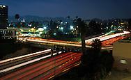 SUNSET BLVD 1998-2001 101 Freeway at Sunset Blvd in Hollywood  ©Jonathan Alcorn