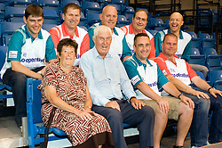 Cooperative Funeral Care World Bowls Tour Competition winners meet the the professional players at Ponds Forge Sheffield   17 June 2010 .Images © Paul David Drabble.