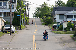 The Weirs Beach area during Laconia Motorcycle Week. Laconia, NH, USA. June 14, 2015.  Photography ©2015 Michael Lichter.