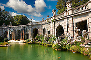 Royal Park of the Palace of Caserta - Aeolus Fountain. Italy. A UNESCO World Heritage Site .<br /> <br /> Visit our ITALY HISTORIC PLACES PHOTO COLLECTION for more   photos of Italy to download or buy as prints https://funkystock.photoshelter.com/gallery-collection/2b-Pictures-Images-of-Italy-Photos-of-Italian-Historic-Landmark-Sites/C0000qxA2zGFjd_k<br /> <br /> <br /> Visit our EARLY MODERN ERA HISTORICAL PLACES PHOTO COLLECTIONS for more photos to buy as wall art prints https://funkystock.photoshelter.com/gallery-collection/Modern-Era-Historic-Places-Art-Artefact-Antiquities-Picture-Images-of/C00002pOjgcLacqI