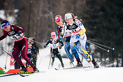 January 6, 2018 - Val Di Fiemme, ITALY - 180106 Maria NordstrÅ¡m of Sweden competes in women's 10km mass start classic technique during Tour de Ski on January 6, 2018 in Val di Fiemme..Photo: Jon Olav Nesvold / BILDBYRN / kod JE / 160122 (Credit Image: © Jon Olav Nesvold/Bildbyran via ZUMA Wire)