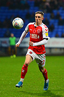 Fleetwood Town's Ashley Hunter in action<br /> <br /> Photographer Richard Martin-Roberts/CameraSport<br /> <br /> The EFL Sky Bet League One - Bolton Wanderers v Fleetwood Town - Saturday 2nd November 2019 - University of Bolton Stadium - Bolton<br /> <br /> World Copyright © 2019 CameraSport. All rights reserved. 43 Linden Ave. Countesthorpe. Leicester. England. LE8 5PG - Tel: +44 (0) 116 277 4147 - admin@camerasport.com - www.camerasport.com